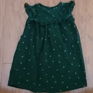 Corduroy Evergreen Dress